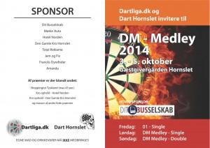 DM Medley invitation, side 1