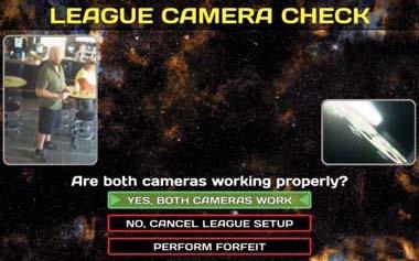 Tjek at kameraerne virker